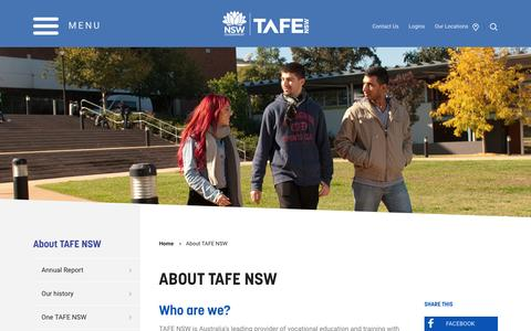 About TAFE NSW - TAFE