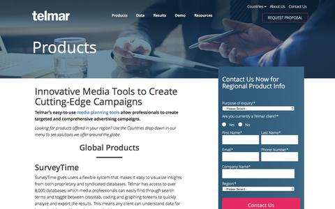 Media Strategy Products and Solutions - Telmar