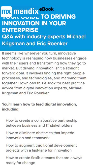 Your Guide to Driving Digital Innovation