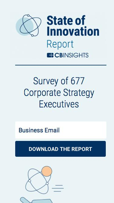 CB Insights State of Innovation Report
