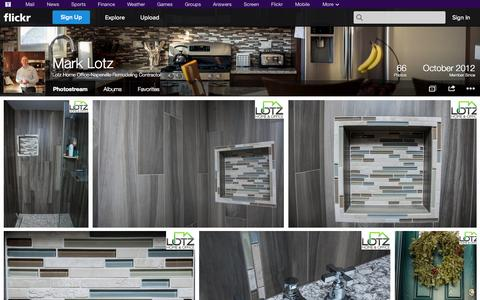 Screenshot of Flickr Page flickr.com - Flickr: Lotz Home Office-Naperville Remodeling Contractor's Photostream - captured Oct. 22, 2014