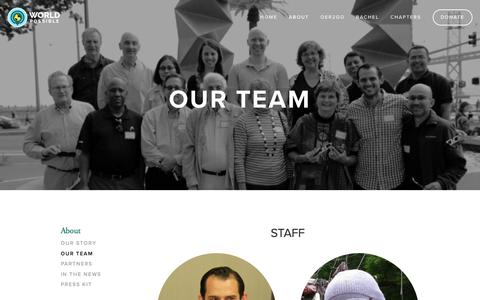 Screenshot of Team Page worldpossible.org - Our Team — World Possible - captured Sept. 21, 2018