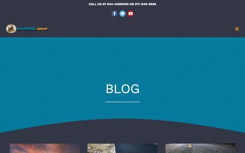 Screenshot of Blog hardinggroup.com - BLOG - Harding Group - captured Nov. 12, 2018
