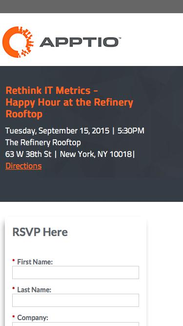 Rethink IT Metrics -<br>Happy Hour at the Refinery Rooftop