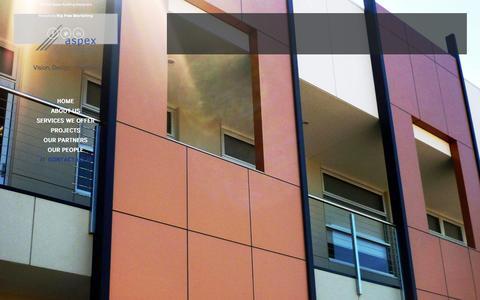 Screenshot of Contact Page aspexdesigners.com.au - Contact Us - Aspex Building Designers - captured Nov. 21, 2016