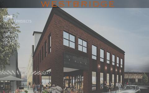Screenshot of Home Page westbridgepartners.net - My Site - Home - captured Dec. 15, 2016