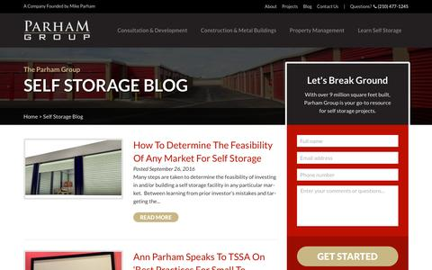 Screenshot of Blog learnselfstorage.com - Articles, Lessons, & Projects | Learn Self Storage - captured Oct. 21, 2016