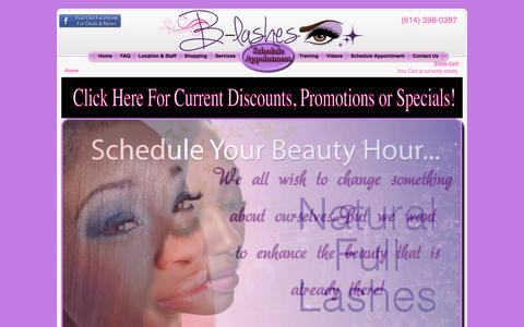 Welcome - B-Lashes Eyelash Extensions and Permanent Makeup