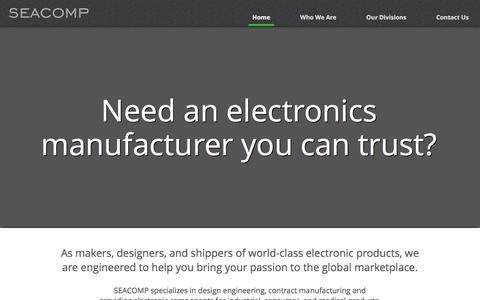 SEACOMP | EMS Partner | Manufacturing and Electronic Components