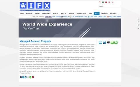 Screenshot of Maps & Directions Page wifx.eu - M.A.P - WIFX-Unlimited Financial Opportunities - captured Sept. 26, 2014