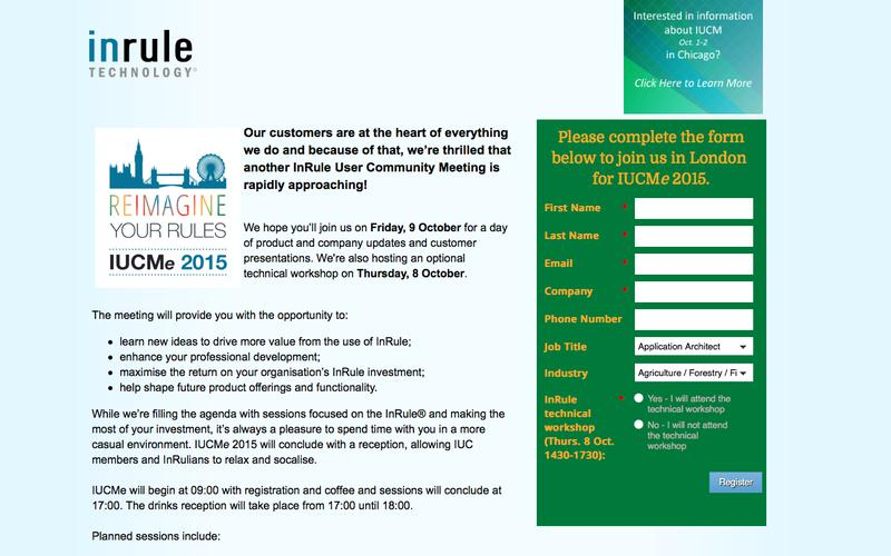 IUCMe 2015 Registration Page