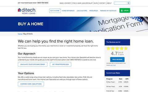 Buy a Home | ditech