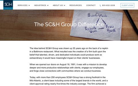 About SC&H Group - Audit, Tax, And Consulting Services | SC&H Group