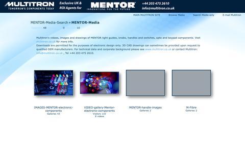 Screenshot of Press Page multitron.co.uk - Multitron-media | MENTOR-Media - captured Sept. 30, 2018