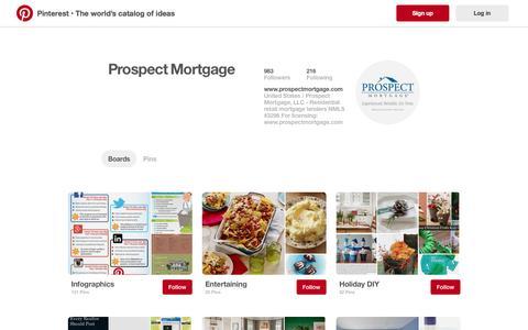 Prospect Mortgage on Pinterest