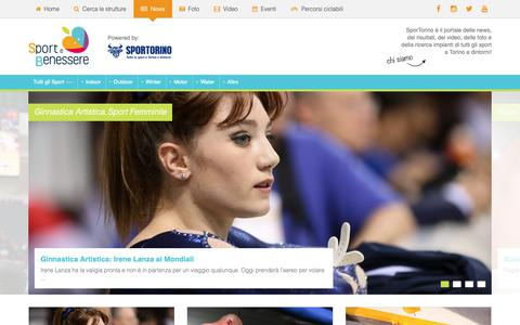 Screenshot of Press Page sportorino.com - SporTorino - Tutto lo Sport a Torino e dintorni: notizie, foto, video e informazioni impianti - captured Oct. 19, 2018