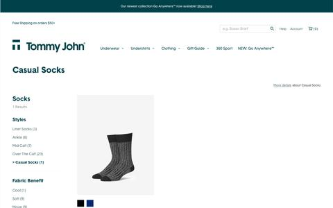 Men's Casual Socks | Tommy John