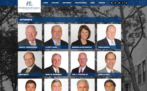 Screenshot of Team Page handl.com - Our People | H and L - captured Oct. 2, 2014