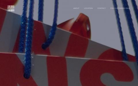 Screenshot of Home Page goldmancox.com - Goldman Cox Ltd. - Luxury & Prestige Paper Products - captured Jan. 31, 2016