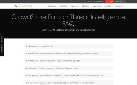 Learn More About CrowdStrike Falcon Threat Intelligence - FAQ