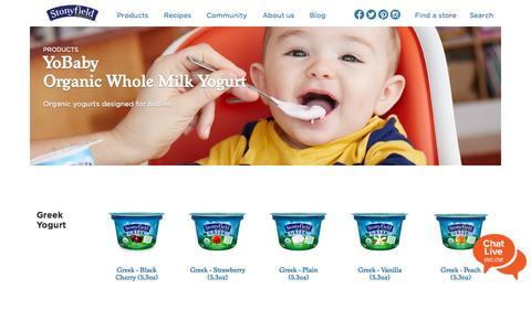 Organic Yogurt, Greek Yogurt & Organic Products | Stonyfield