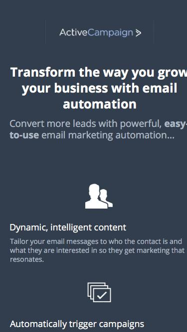 Email Automation | ActiveCampaign