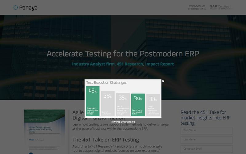 451 Research Impact Report - Panaya Takes on 'Postmodern' ERP Testing