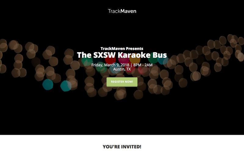 SXSW Karaoke Bus | TrackMaven