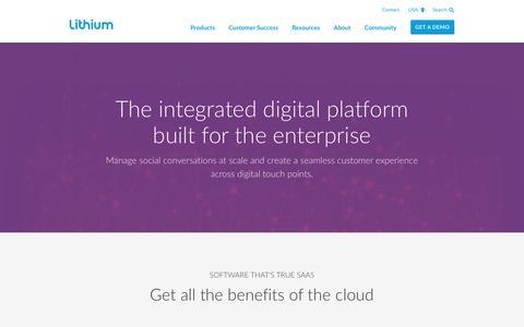 Social Media Integration Technology - Enterprise Social Media Solutions