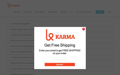 FAQ Cyber Week | Karma