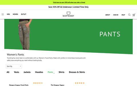 Women's SCOTTeVEST Clothing -