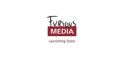 Screenshot of Home Page furiousmedia.com - Coming Soon - captured Sept. 30, 2014