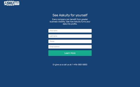 Contact – Askuity