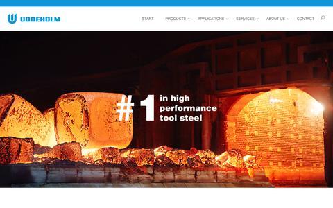 Screenshot of uddeholm.com - Start - Uddeholm Global - Uddeholm Global - captured June 10, 2017