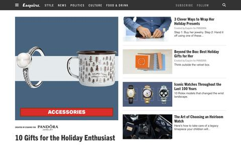 Mens Accessories 2015 - Watches, Shoes and Accessories for Men