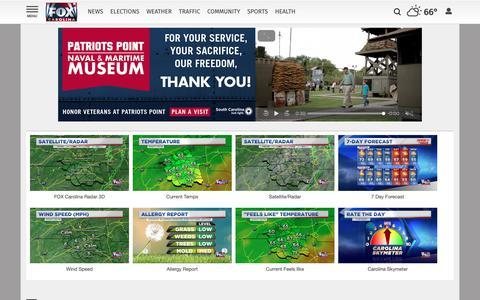Screenshot of Maps & Directions Page foxcarolina.com - Maps | foxcarolina.com - captured Nov. 6, 2018
