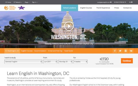 Learn English in Washington – Washington English School – EC Washington