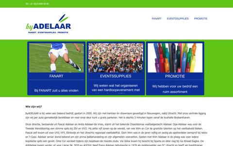 Screenshot of Home Page byadelaar.nl - Home - by Adelaar - captured Oct. 5, 2014