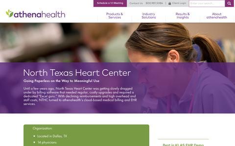 Cardiology EHR | athenaClincials | athenahealth