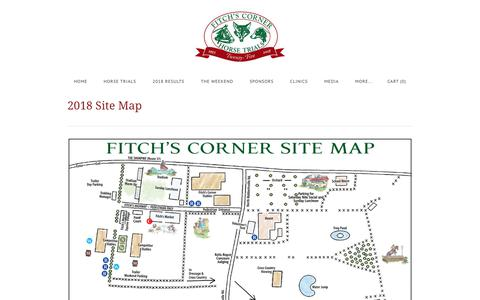 Screenshot of Site Map Page fitchscorner.com - Site Map - Fitchs Corner - captured Aug. 14, 2018