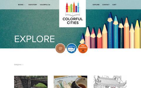 Screenshot of Blog colorfulcities.com - Blog - Colorful Cities - captured Aug. 17, 2017