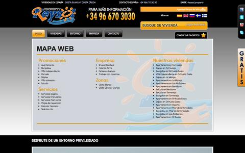 Screenshot of Maps & Directions Page keysol.es - KEYSOL - Mapa web - captured Oct. 6, 2014