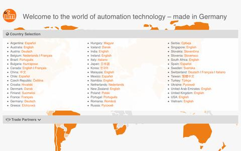 ifm - automation made in Germany
