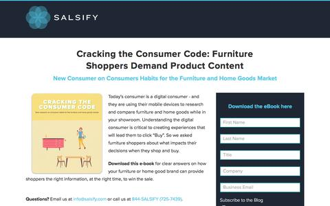Cracking the Consumer Code: Consumer Research for Furniture and Home Goods