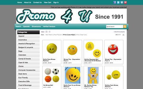 Screenshot of Team Page promo4u.co - Promo 4 U - People - captured Sept. 30, 2014