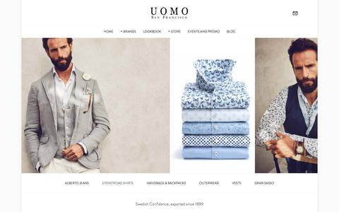 Stenstroms Shirts — Uomo San Francisco | Designer European Luxury Menswear and Accessories