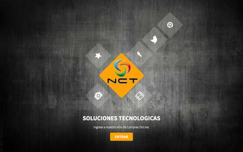 Screenshot of Home Page nct.com.py - NCT Online - Soluciones tecnologicas - captured Aug. 17, 2015