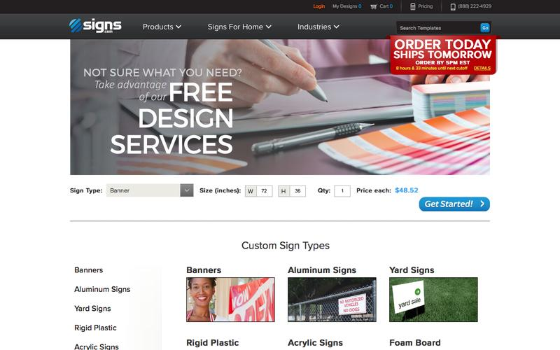 Signs.com | The Leader In Custom Signs & Signage Online