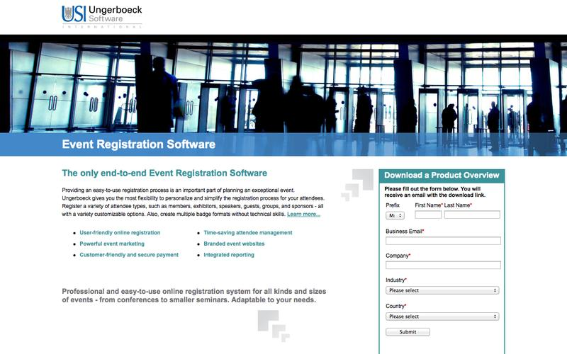 Event Registration Software | Ungerboeck Software International