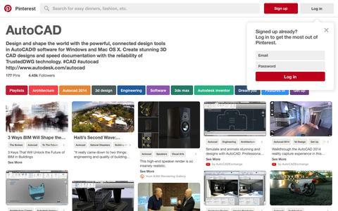 177 best AutoCAD images on Pinterest | Playlists, Architecture and Autocad 2014